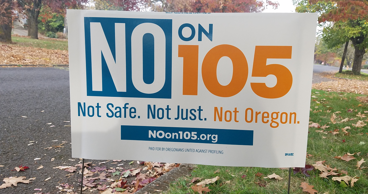 Measure 105 would set Oregon back