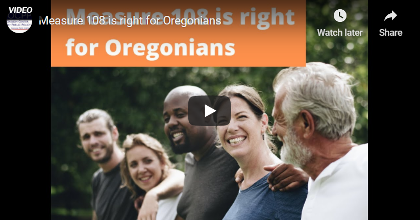 Measure 108 is right for Oregonians
